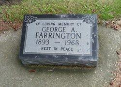 George A Farrington