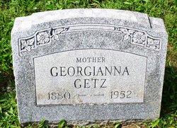Georgianna <I>Sponsler</I> Getz