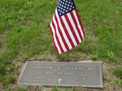 Gideon L Allen