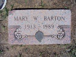 Mary W. Barton