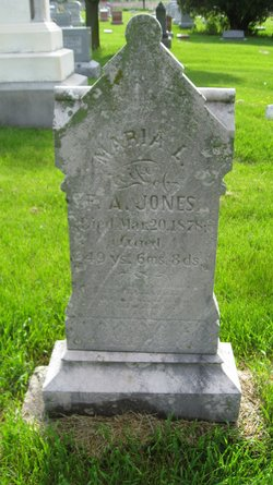 Maria Aretus <I>Lacey</I> Jones