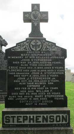 Mary <I>Jackson</I> Stephenson