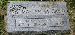 Mae Emma <I>Gregg</I> Gay