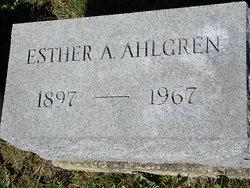 Esther A. <I>Anderson</I> Ahlgren