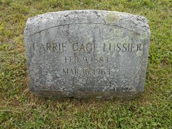 Carrie Blanche <I>Gage</I> Lussier