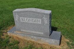 Anna <I>Bartlett</I> Blondin