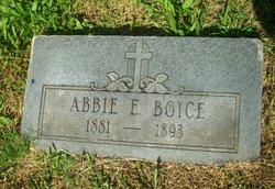 Abbie E. Boice
