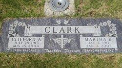 Martha <I>Kuebler</I> Clark