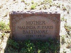 Malinda Francis <I>Massey</I> Baltimore