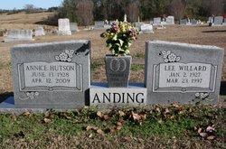 Hilda Annice <I>Hutson</I> Anding