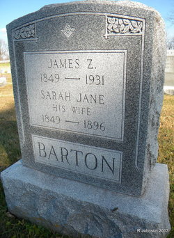 James Zedikiah Barton