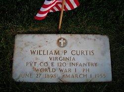 William P Curtis