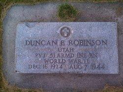 E Robinson Duncan