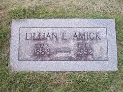 Lillian E. <I>Thompson</I> Amick