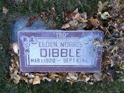 """Eldon Norris """"Ted"""" Dibble"""