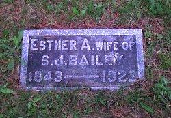Esther Ann <I>Tissue</I> Bailey
