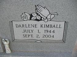 Darlene <I>Kimball</I> Alexander