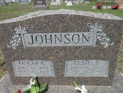 Oscar Elmer Johnson