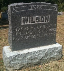 Susan M <I>Shoemaker</I> Wilson