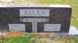 Effie <I>Corley</I> Allen