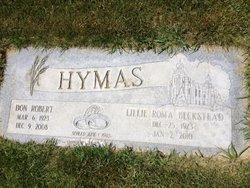 Lillie Roma <I>Beckstead</I> Hymas