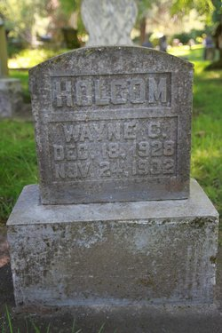 Wayne C Holcom