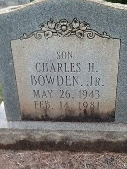 Charles H Bowden, Jr
