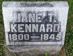 Jane <I>Thompson</I> Kennard