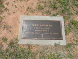 Sgt Lee Edward Andrews