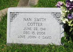 Nan <I>Smith</I> Cotter