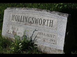 Anna <I>Hoyt</I> Hollingsworth