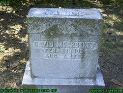 David McCroskey
