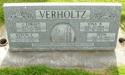 """John Edward """"Ed"""" Verholtz"""
