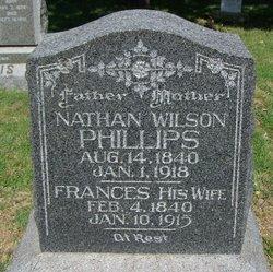 """Frances Drusilla """"Fannie"""" <I>Smith</I> Phillips"""