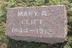 Mary Ann <I>Laycock</I> Clift