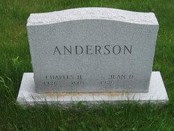 Jean D Anderson