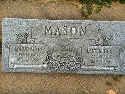 Larue <I>Giles</I> Mason