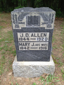 Mary Jane <I>Riggs</I> Allen