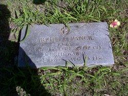 Archie L Vangil