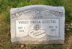 Violet Omega <I>Scott</I> Gueutal