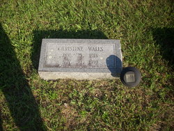 Christine <I>Walls</I> Bowman