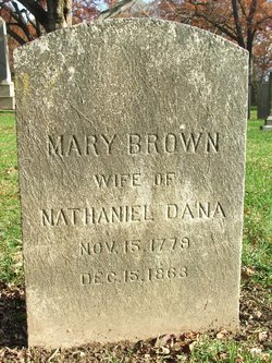 Mary <I>Brown</I> Dana