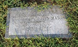 Dorothy L. <I>Griffin</I> Mason