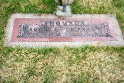 Rollie Edward Thomson