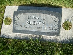 Lydia Maria <I>Huestedt</I> Burton