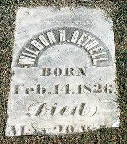 Wilson Henderson Bethel, Sr