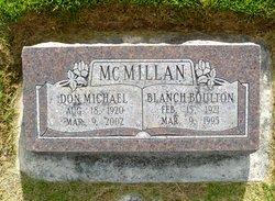 Blanch <I>Boulton</I> McMillan