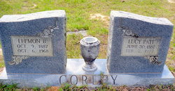 Lucy <I>Pate</I> Corley