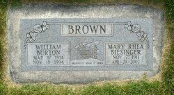 "William Burton ""Bill"" Brown"