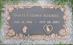 Shirley Ann <I>Testerman</I> Alexander